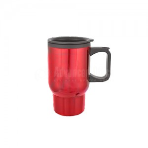 Chope de Voiture Isotherme Rouge