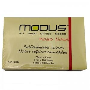 Post it MODUS 75 x 50 mm  -  Advanced Office Algérie