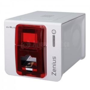 Imprimante de badges EVOLIS Zenius, Simple face, Couleurs (YMCKO) 150 cartes/h, Monochrome 500 cartes/h  -  Advanced Office Algérie