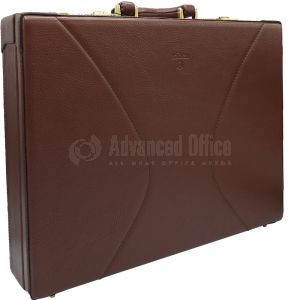 image. Valise diplomatique VERTEX Marron  -  Advanced Office Algérie