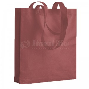 Sac de shopping en tissu 30X39.5 Marron