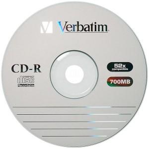 CD-R imprimable VERBATIM 700Mo