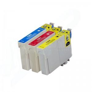 Pack de 3 Cartouche couleur CYM CORALJET Compatible EPSON T1282/T1283/T1284 pour SX125/S22/SX130/SX420W/SX425W/BX305F/BX305FW  -  Advanced Office Algérie