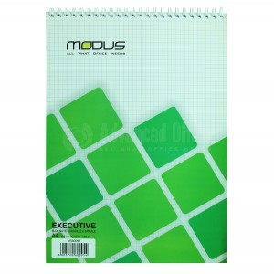 Bloc Note à spiral MODUS A4 quadrillé  -  Advanced Office Algérie