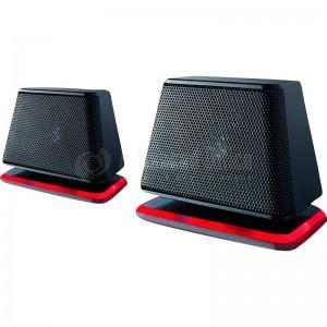 Enceintes FUJITSU E2000 Air Stéréo 2.0 Multimédia 1.2W RMS, MP3, Jack 3.5mm, alimentation via USB, Noir