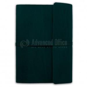 Notebook Luxe A5 Noir avec Bande élastique