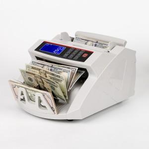 Compteuse de billets 2819, Détection des faux Billets, UV Avec LCD Affichage  -