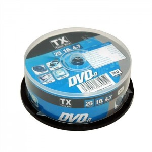 DVD Vierge TX Think xtra CAKEBOX