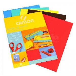 Feuilles en mousse CANSON 5 couleurs assorties 20 x 29cm 2mm  -  Advanced Office Algérie