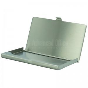 Porte cartes de visite métallique Arganté