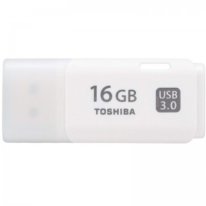 image. Flash Disque TOSHIBA TransMemory U301 16Go USB 3.0 Blanc  -  Advanced Office Algérie