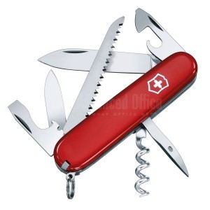 Couteau Suisse Victorinox Camper Rouge