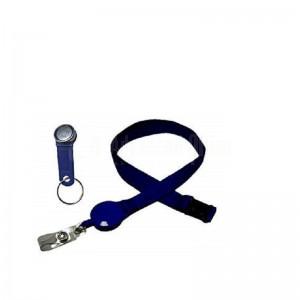 Cordon pour badge 20mm avec sécurité Bleu  -  Advanced Office Algérie