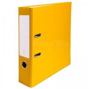 Classeur chrono MODUS en PVC jaune avec perforateur  -  Advanced Office Algérie