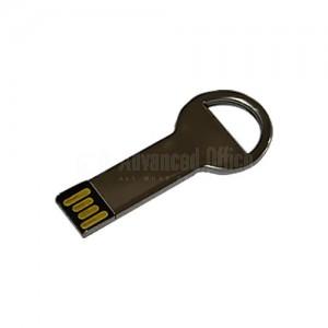 Porte clés flash disque Argent 16Go