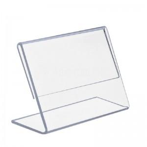 Présentoir documents acrylique A7