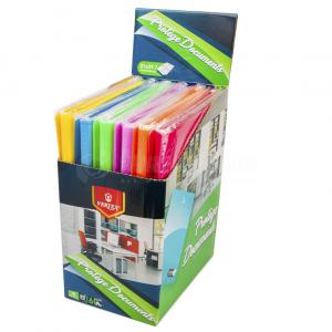 Porte vue VERTEX 80 pochettes, 160 vues Multi couleurs  -  Advanced Office Algérie