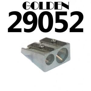 Taille crayon métallique GOLDEN double usage