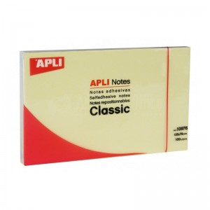 Post It APLI 125 x 75mm   -   Advanced Office