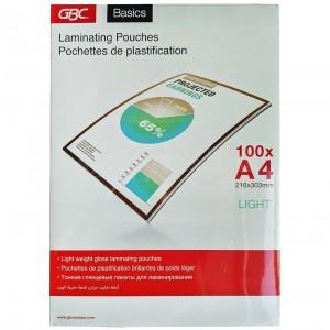 Rame de pochettes de plastification A4 GBC 75 microns