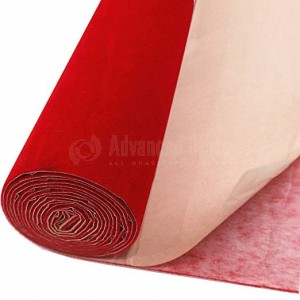 Rouleau Rouge de velours Autocollant 0.45 x 1m  -  Advanced Office Algérie