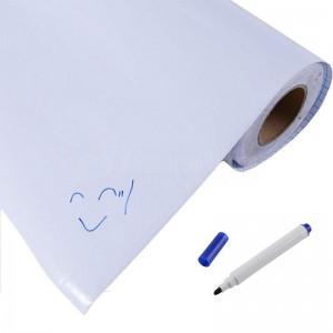 Habillage de Tableau blanc autocollant 100 x 100cm Linéaire pour école primaire