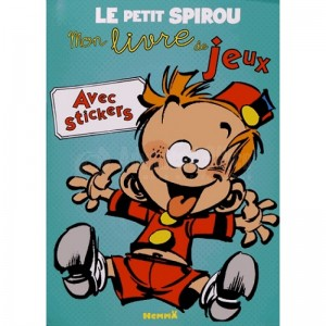Cahier de coloriage HEMMA Petit spirou Mon livre de jeux avec stickers  -  Advanced Office Algérie