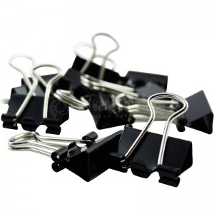 Binder clips 15 mm boite de 12 pcs