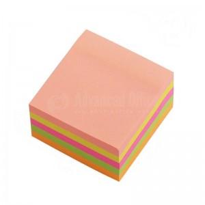 Post It JIN XIN 75 x 75mm en Plastique couleurs transparent 100 feuilles 5 couleur  -  Advanced office Algérie