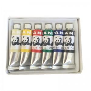 Peinture PANDA en tube 06 Couleurs   -   Advanced Office Algérie