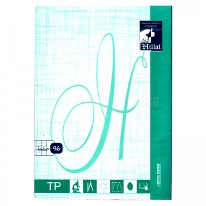 Cahier TP EL HILLAL Pique 96 Pages GF A4  -  Advanced Office