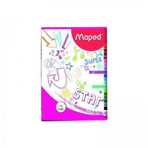 Cahier MAPED Pique A4 70g Seyes 192 Pages  -  Advanced Office