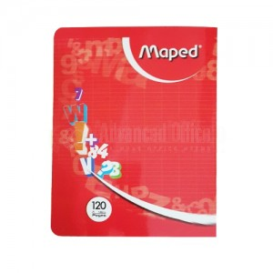 Cahier de TP MAPED Pique PF 120 Pages  -  Advanced Office Algérie