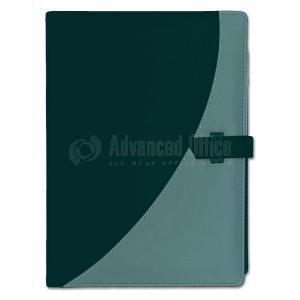 Organiseur RIDEX DESIGN A5 Avec Calculatrice Noir-Gris avec fermeture à ceinture  -  Advanced Office Algérie