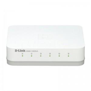 Switch D-LINK 5 Ports RJ45 10/100/1000Mbps