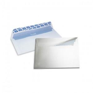 Boite de 500 enveloppes DL F15 auto adhésive 110 x 220mm
