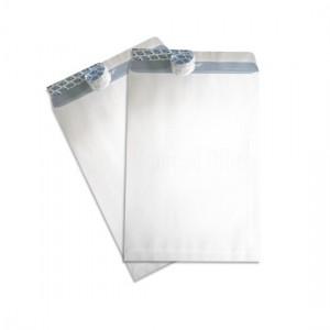 Boite de 500 Enveloppes pochette F16 A5 blanche auto adhésives 162 x 229 mm