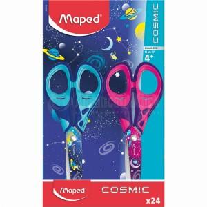 Ciseaux écolier MAPED Cosmic 13 cm Multi couleurs