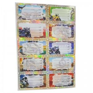 Paquet de 10 Feuilles étiquette Ecolier GOLDEN 25015