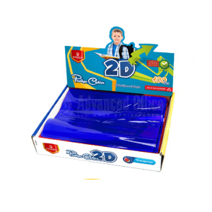 Protège cahier 2D VERTEX VS-212 Bleu