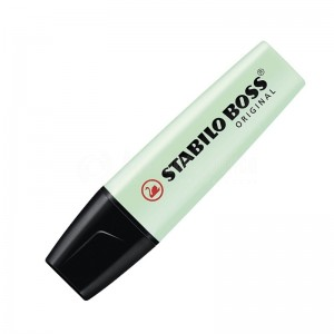 Marqueur fluorescent STABILO Boss Original Pastel 2.0-5.0mm Menthe à l'eau (Vert)