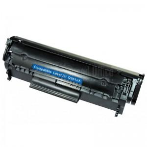 Toner Compatible CORALJET HP CH2612/CANON FX10 noir pour HP serie 1000/3000 CANON LBP2900/3000/L100 serie/4150