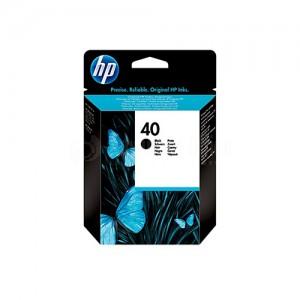 Cartouche HP 40 Noir pour Designjet 250/350/400/650, Deskjet 1200