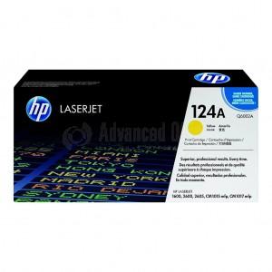 Toner HP 124A Yellow pour Laserjet 2600/1600/2605/CM1015/CM1017