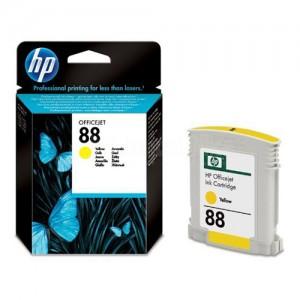 Cartouche HP 88 Yellow pour Officejet K550/K5400/K8600/L7590/L7680/L7780/L7480
