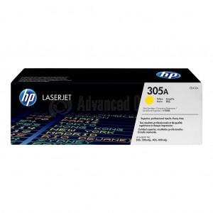 Toner HP 305A Yellow pour M351A/ M451/ M375/ M475