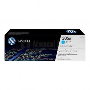 Toner HP 305A Cyan pour M351A/ M451/ M375/ M475