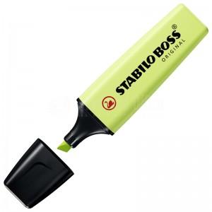 Marqueur fluorescent STABILO Boss Original Pastel 2.0-5.0mm Citron vert