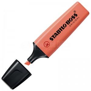 Marqueur fluorescent STABILO Boss Original Pastel 2.0-5.0mm Douceur de Corail (Corail rouge)