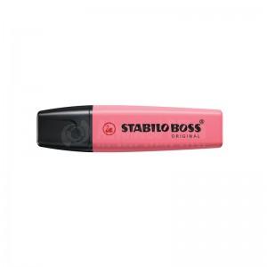 Marqueur fluorescent STABILO Boss Original Pastel 2.0-5.0mm Fleur de cerisier Rose